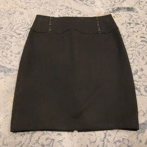 Womans Black Pencil Skirt